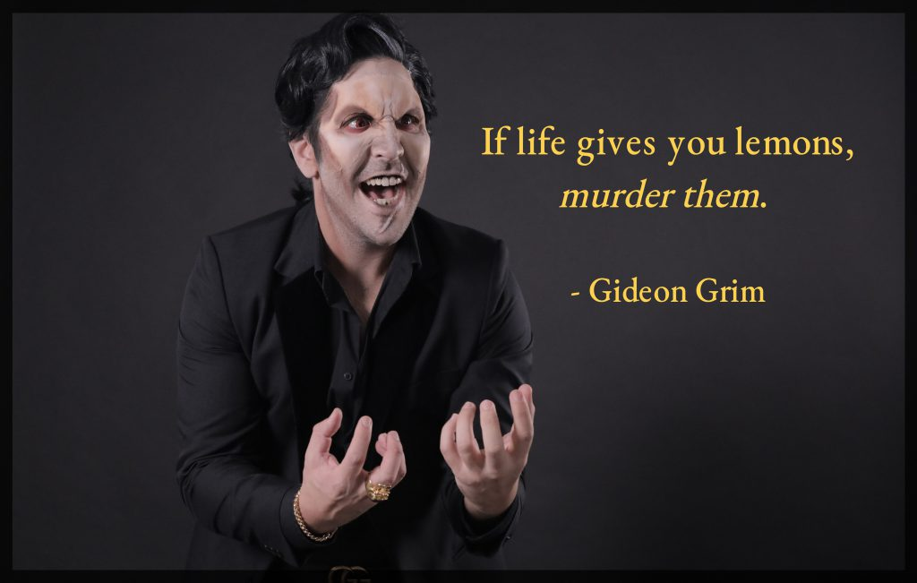 Gideon Grim Motivational Poster