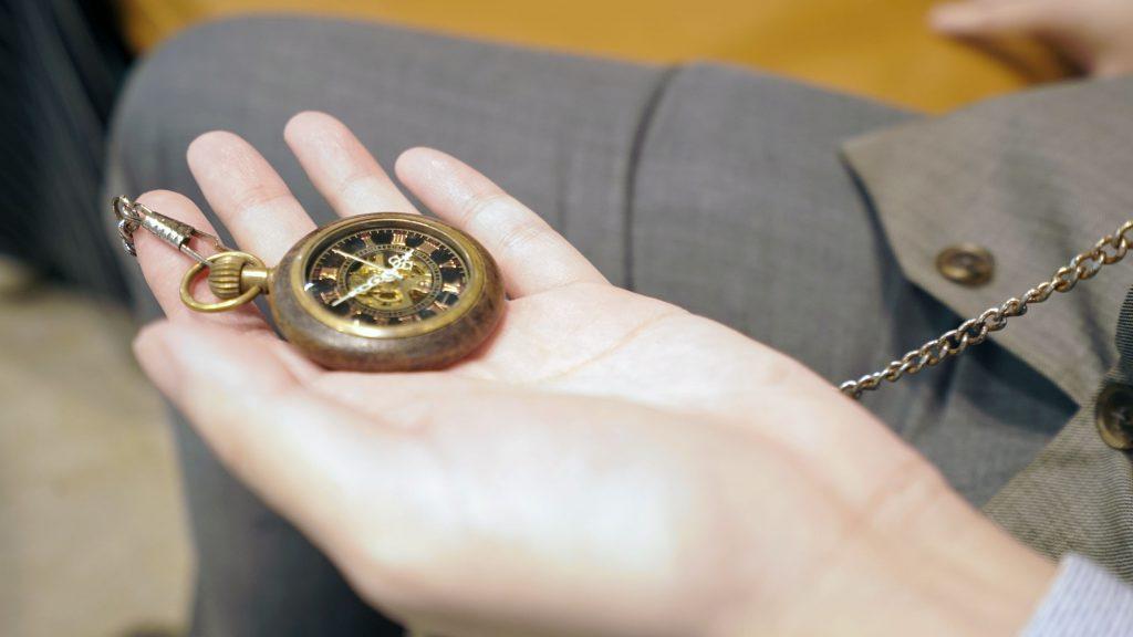 Hypnotist pocket watch