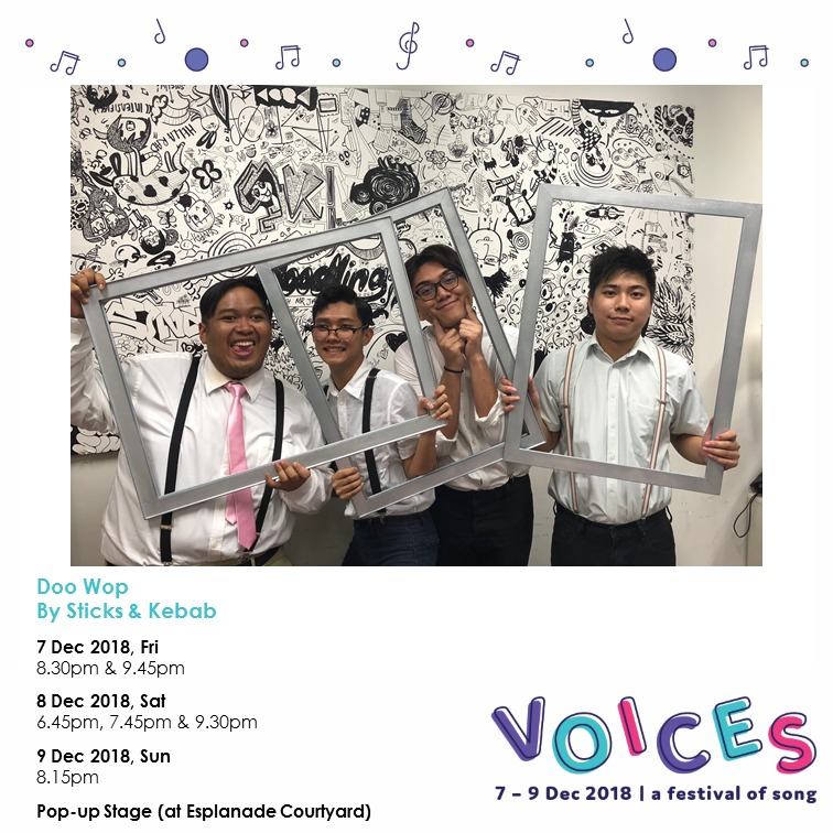Esplanade Voices - Doo Wop by Sticks & Kebabs