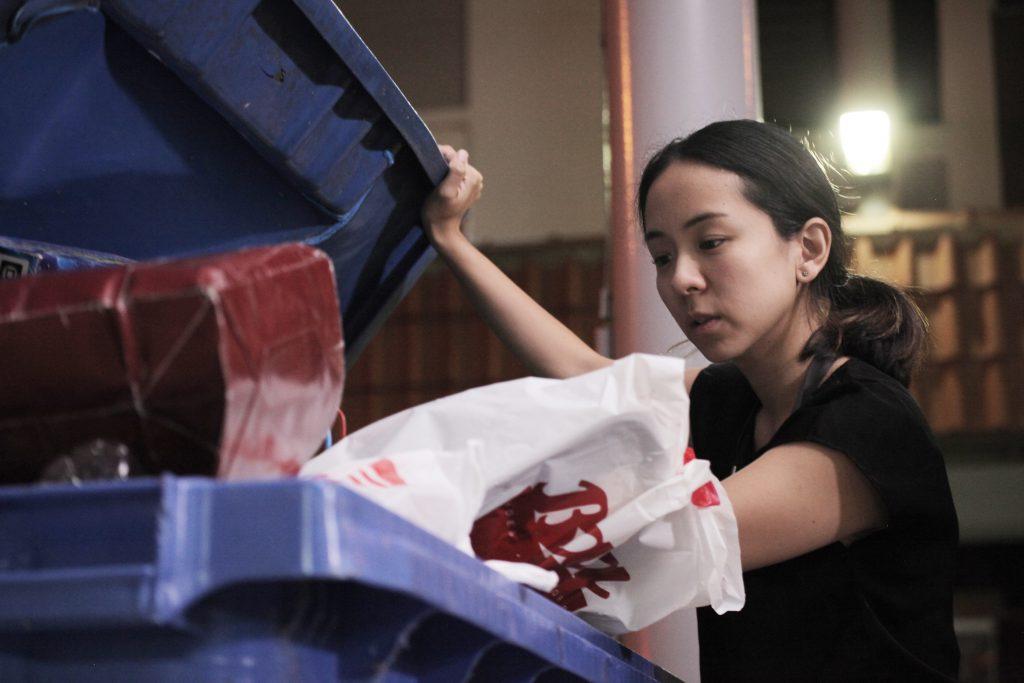 Dumpster Diving Singapore - Bianca