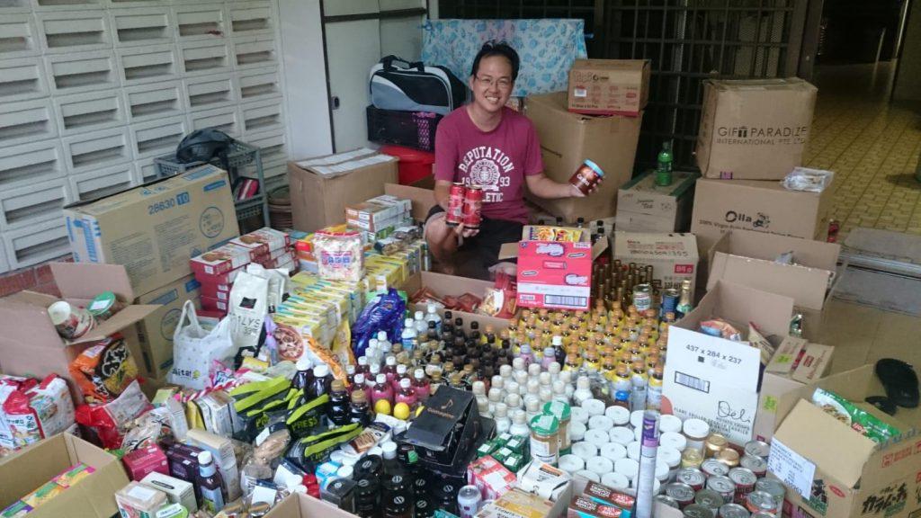 Dumpster Diving Singapore - Daniel Tay